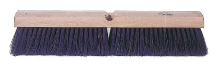 TOUGH GUY Horse Hair/Polypropylene Fine Sweeping Push Broom