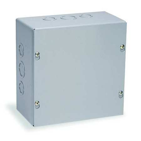 Junc Box Encl, Mtlc, 15In.Hx 15In.Wx4In.D