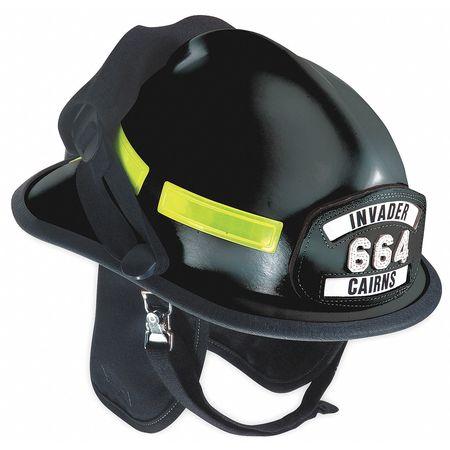 Fire Helmet, Black, Modern
