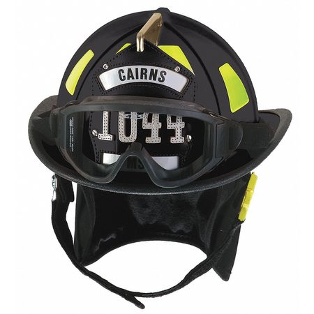 Fire Helmet, Black, Traditional