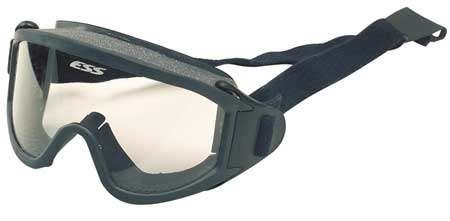 Msa Clear Firefighter OTG Goggles,  Anti-Fog,  Scratch-Resistant