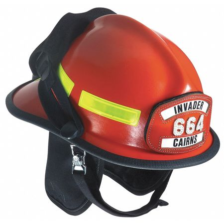 Fire Helmet, Red, Modern