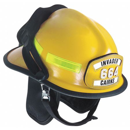 Fire Helmet, Yellow, Modern