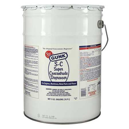 Degreaser, Super Concentrated, 5 Gal, Pail