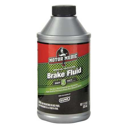 Silicone Brake Fluid DOT5, 11 Oz