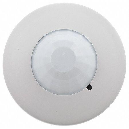 Occupancy Sensor, PIR, 1500 sq ft, White