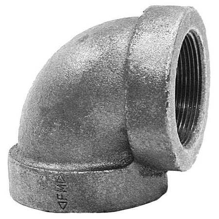 "2-1/2"" FNPT Cast Iron 90 Degree Elbow"
