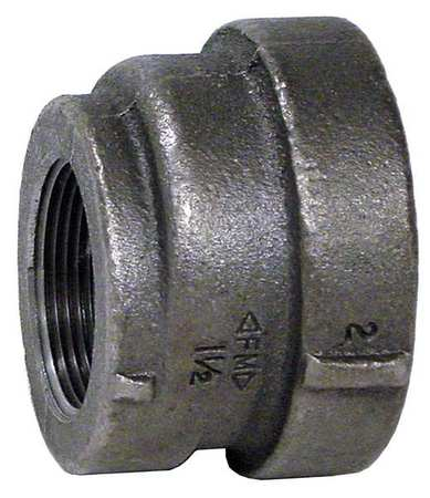 "2"" x 3/4"" FNPT Concentric Reducer Coupling"