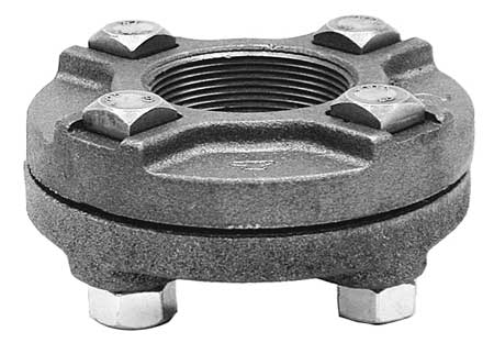 "1/2"" Cast Iron Flange Union"