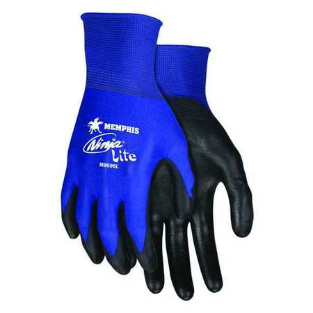 Ninja Lite- Polyurethane and PVC Palm-Coated Gloves