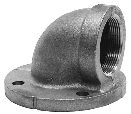 "3"" FNPT 90 Degree Flange Elbow"
