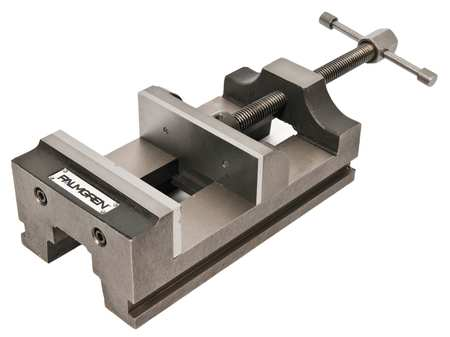 Drill Press Vise, 6 In W,  Jaw Open 6 In