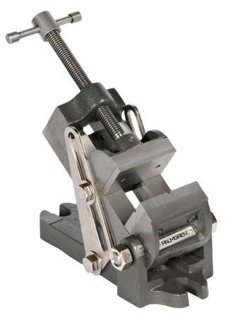 Angle Vise, Swivel, 2-7/16 In W, 2.5 In D
