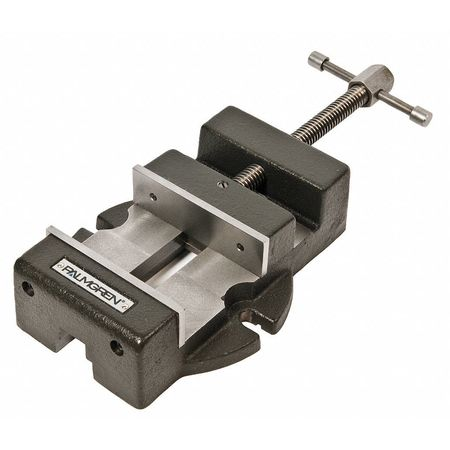 Low Profile Machine Vise, 4.5 In W, 4 In D