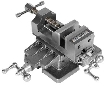 Cross Slide Vise,  3 In W, Open 3 In