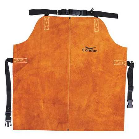 "Welding Waist Apron,  Leather,   24""L"