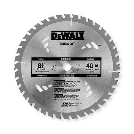 Buy circular saw blades free shipping over 50 zoro crclr saw bld crbde 8 14 in 40 teeth greentooth Choice Image