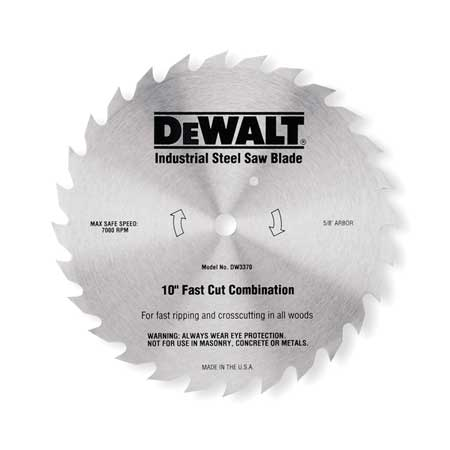 Circular Saw Blade,  Steel,  7-1/4 In,  26 Teeth