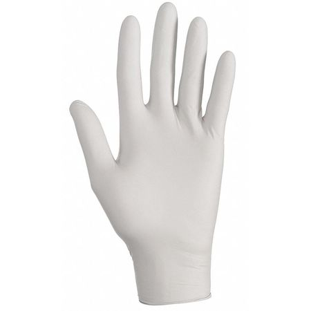 Disposable Gloves, Nitrile, S, Gray, PK150