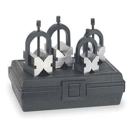 V-Block Set, 8pc, W/Case