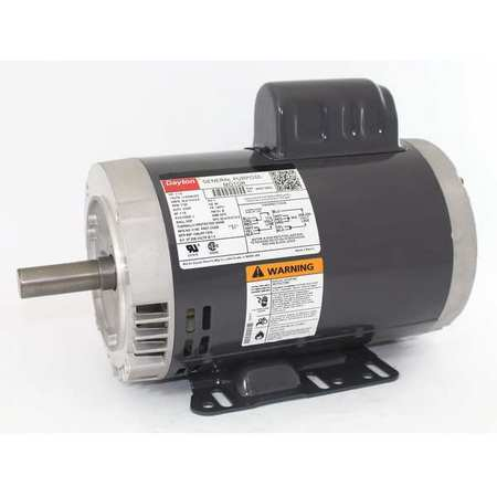 GP Mtr, CS, ODP, 1-1/2 HP, 1725 rpm, 145TC
