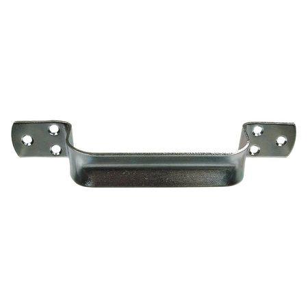 Pull Handle, Steel, Polished Zinc