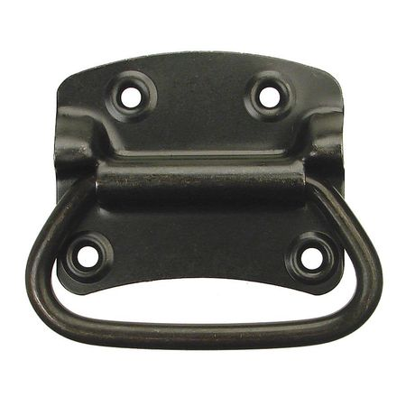 Folding Pull Handle, Steel, 3-25/32 In. H