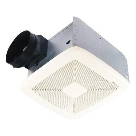Broan Bathroom Fan, 150 CFM, 0.5A QTXE150 | Zoro.com