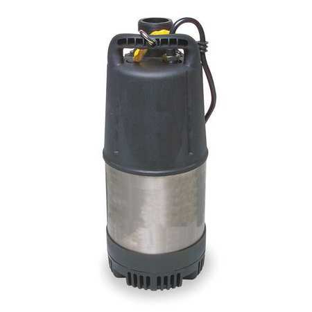 "1-1/4 HP 2"" Chemical Resistant Submersible Pump 115V"