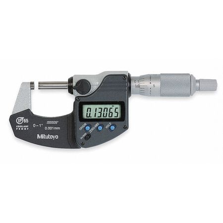 Electronic Micrometer, IP65, 0-1 In