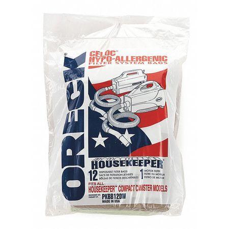 Filter Bag, Motor Micro Filter, Paper, PK12