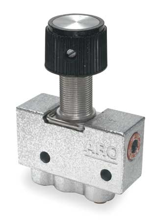 Manual Air Control Valve, 3-Way, 5/32 in