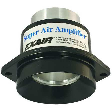 Air Amplifier, 1.22 In Inlet, 8.1 CFM