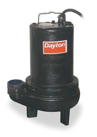"""1 HP 2"""" Manual Submersible Sewage Pump 460V"""