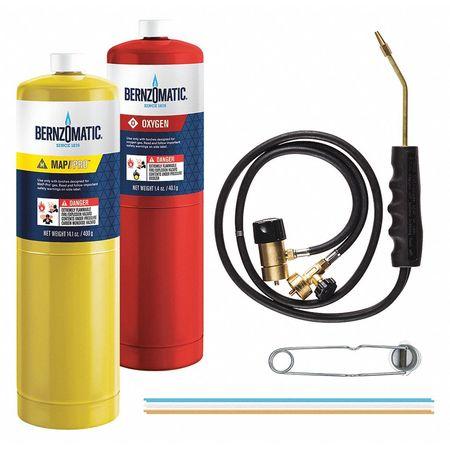 Bernzomatic Cutting Welding Brazing Kit With Oxygen
