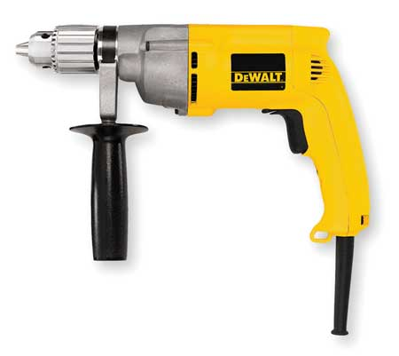 Electric Drill, 1/2 In, 0 to 600 rpm, 7.8A