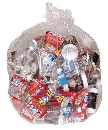 Trash Bags,  65 gal.,  1.5 mil,  PK50