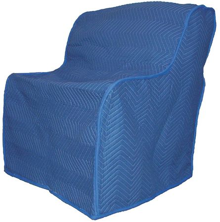 Furniture Cover, 40 In. L x 37 In. W, Blue