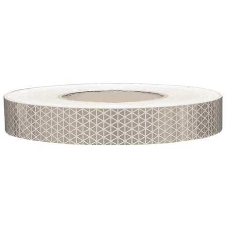 Reflective Tape, W 1 In, White