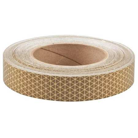 Reflective Tape, W 1 In,  L 50 Yd, Gold
