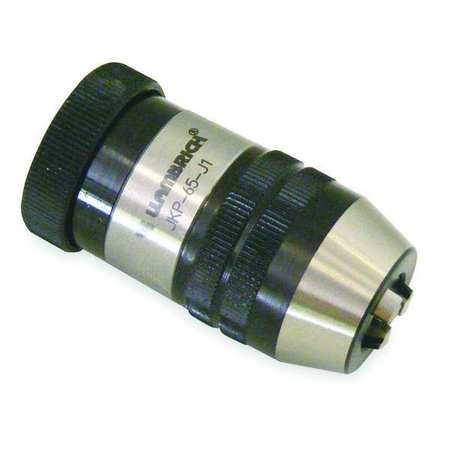 "Keyless High Precision Drill Chuck 0.394"" Cap.,  33JT Mount Size,  Steel"