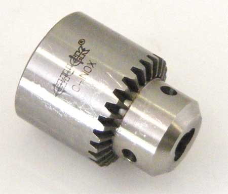 Drill Chuck, Keyed, Steel, 1/2 In, 5/8-16