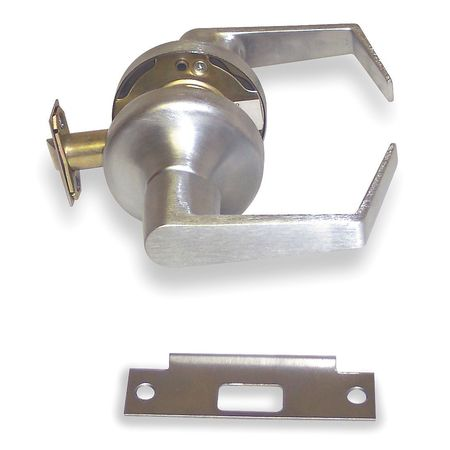 Lever Lockset, Mechanical, Passage, Grade 2