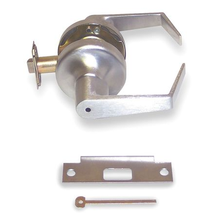 Lever Lockset, Mechanical, Privacy, Grade 2