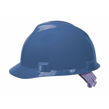 Hard Hat, C,  E, Blue, 4 pt. Pinlock