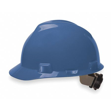 Hard Hat, Front Brim, Fastrac, Blue