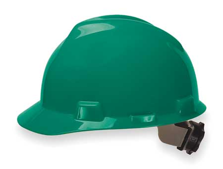 Hard Hat, Front Brim, Fastrac, Green