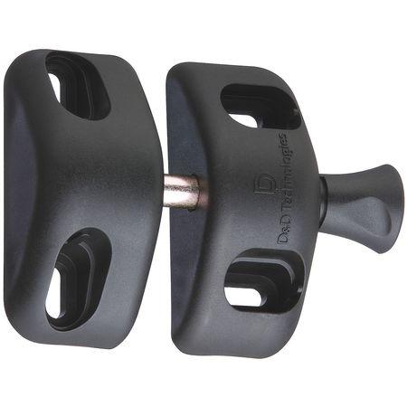 Magnalatch Magnetic Gate Latch 2 1 2 In W Black Mlsps2