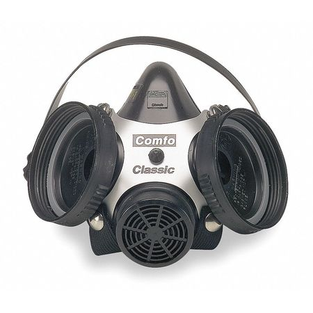 MSA Comfo(TM) Classic Half Mask, Rubber, S
