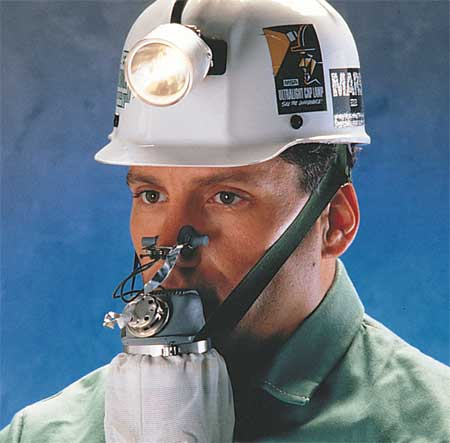 Emergency Escape Mouth Bit Respirator